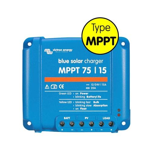 Régulateur de charge MPPT Blue solar 15A
