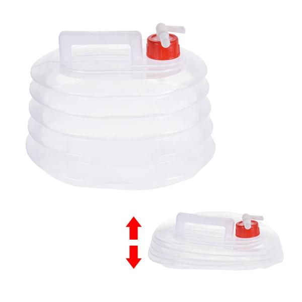Jerrican pliable 5L alimentaire avec robinet