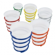 Set de 6 supports gobelets camping
