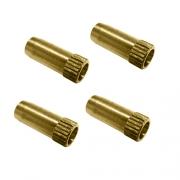 Fourreau de 6 mm pour tuyau cuivre (par 4)