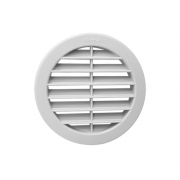 Grille ronde 96 mm - 120 mm Grise