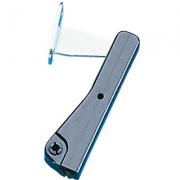 Compas de placard noir à force réglable hauteur 120 mm