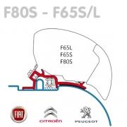 Adaptateur store Fiamma F65 F80 Ducato avant 2006