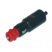 Fiche 12V DIN 12mm et 20mm avec fusible 8A