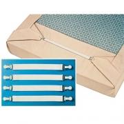 Fixe draps élastiques, LIT A PAN COUPE lot de 4