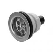 Bonde de douche perçage 45mm avec réducteur tuyau