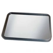 Miroir de courtoisie 10,5 x 7 cm adhésive