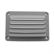 Grille aération gris CLAIR  140 x 95 mm