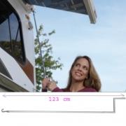Manivelle pour store Fiamma 123cm