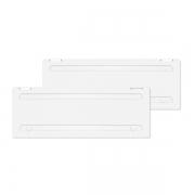 Cache grille Dometic L500 Blanc