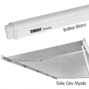 Store Thule 4900 Blanc 4m Gris Mystic