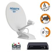 Antenne Satellite automatique Antarion G6+ 72cm + démo TNT HD