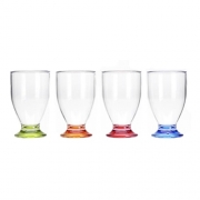 Lot de 4 verres 17cl empilables