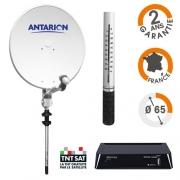 Antenne Satellite Antarion EASY65 avec démodulateur TNT HD