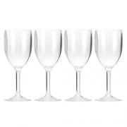 Lot de 4 verres à vin