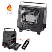 Chauffage à gaz compact portatif 1200W