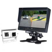 Pack caméra double de recul LCD et moniteur