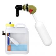 Flotteur de réservoir d\'eau avec robinet