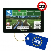 Nouveau GPS Mappy ultiX585 camp Europe