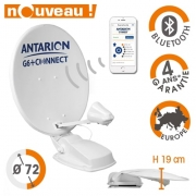 Antenne Satellite automatique Antarion G6+ 72cm