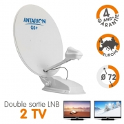 Antenne satellite automatique Antarion G6+ Twin