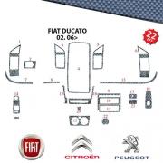 Tableau de bord CARBONE Ducato depuis 2007