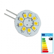 Ampoule 9 LED G4 120 Lumens 1.5W 12V 23mm chaud