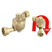 Filtre a gaz Prakto anti encrassement orientable
