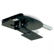 Support TV LCD plafond coulissant