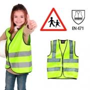 Gilet jaune de sécurité pour enfants