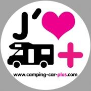 Autocollant Camping-car-plus