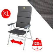 Fauteuil Camping XL Matelasse Grenoble