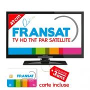 Nouvelle TV HD LED 49cm Satellite intégré Fransat