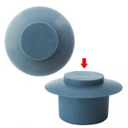 Bouton de pare choc 13mm  Bleu ciel