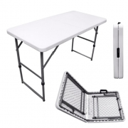 Table de camping pliante EASY 122x61cm