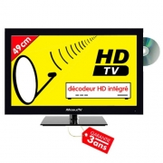 TV HD DVD 49cm compatible Satellite