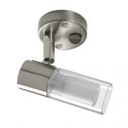 Spot métal 1 LED 12V 1W avec interrupteur