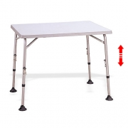 Table de camping easy 122x61cm id ale en camping car - Table camping pliante avec siege ...