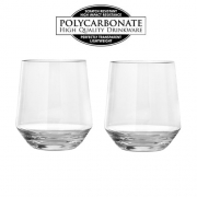 Lot de 2 verres à eau polycarbonate 30cl