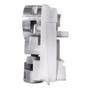 Embout gauche de store 4900 THULE Blanc AVEC mécanisme