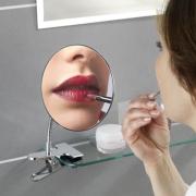 Miroir grossissant à pince