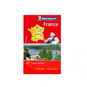 Mini Carte de France Michelin 2019