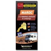 Carte MAROC Parkings gratuits et Campings