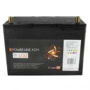 Batterie auxiliaire Power Line AGM 100 AH Powerlib