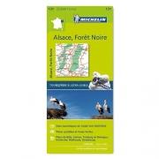 Carte Michelin 2017 Alsace Forêt Noire