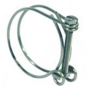 3 colliers pour tuyau annelé maxi 31mm