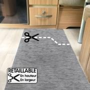 Tapis Retaillable Runner Roller 500 x 52 cm Gris