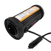 Nouveau convertisseur 150W 12V 230V USB Cylindre