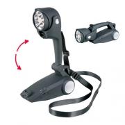 Lampe torche LED dynamo à manivelle
