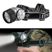 Lampe Frontale réglable 7 LED